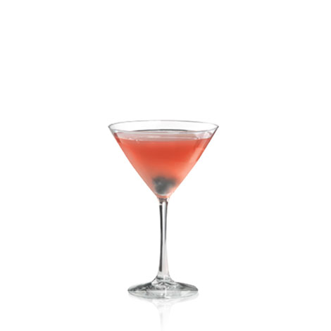 Blue Pomegranate Martini